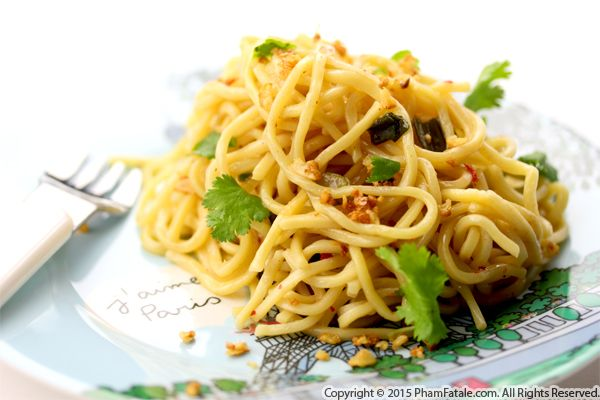 Garlic Noodles Recipe