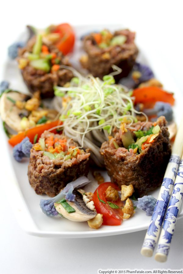 Beef Roll Appetizers (Fusion Recipe)