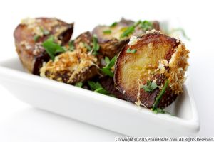 Coconut Roasted Potatoes