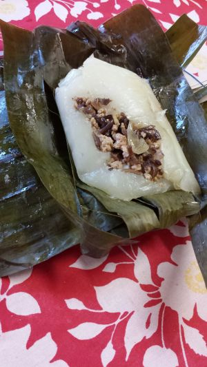 Banh Gio Recipe (Steamed Meat Rice Cakes)