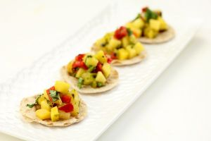 Mango Salsa Appetizers