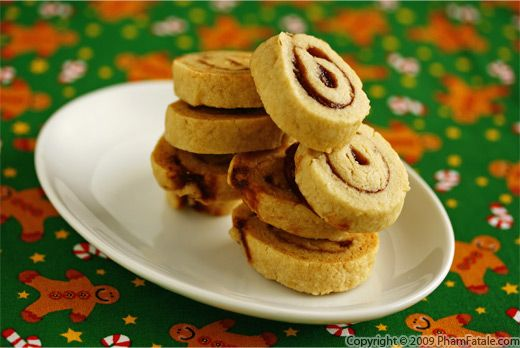 Cranberry Apple Pinwheel Cookies