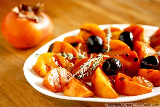 Fuyu Persimmon: Fruit of the Month Recipe