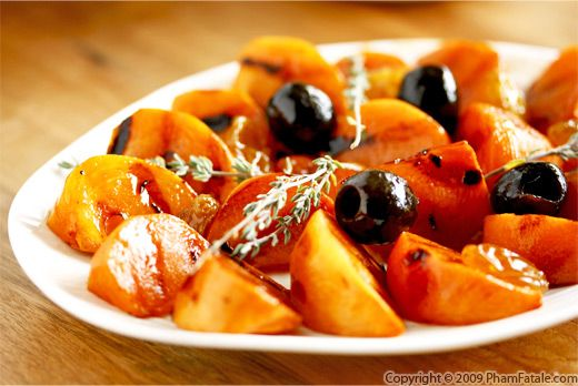 Grilled Persimmons with Picture