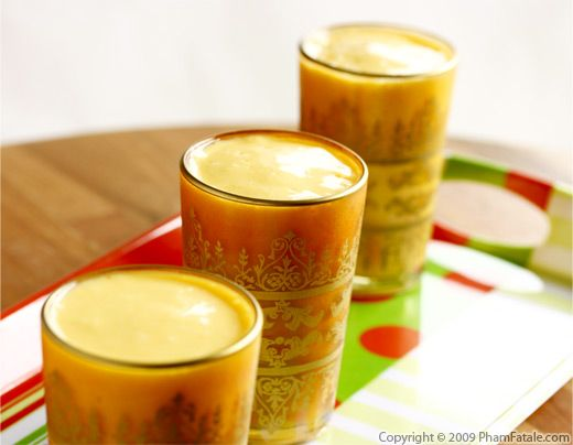 Mango Lassi (Indian Yogurt Drink) Recipe