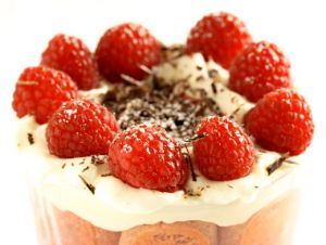 Raspberry Trifle (Charlotte aux Framboises)