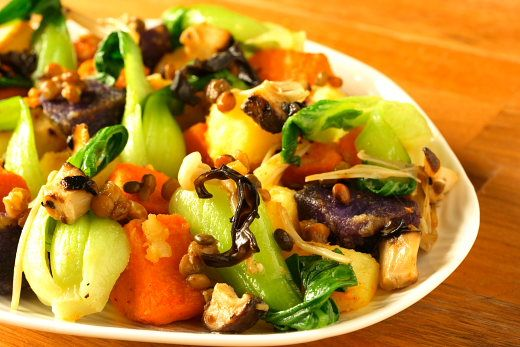 Asian Style Warm Potato Salad Recipe